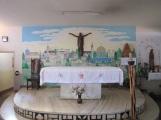 Hauskapelle in Antsirabe mit der Malerei von Br. Günther